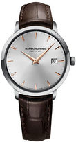 Raymond Weil Tocatta Collection, Stainless Steel and Leather Watch