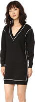 McQ by Alexander McQueen Alexander McQueen Sweatshirt Dress
