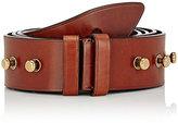 Prada Men's Leather Belt-BROWN