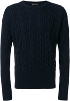 Versace cable knit jumper
