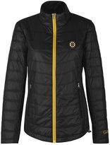 G-III Sports Women's Boston Bruins Sideline Quilted Jacket