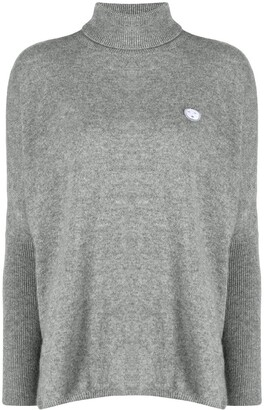 Societe Anonyme Flared Roll Neck Sweater