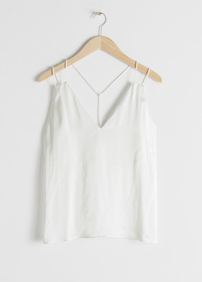 And other stories Duo Spaghetti Strap Tank Top