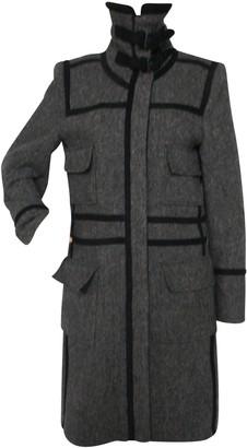 Et Vous Grey Linen Coat for Women