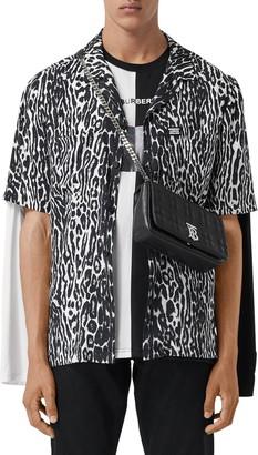 Burberry Radley Short Sleeve Button-Up Shirt