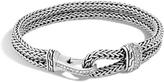 John Hardy Classic Chain Station Bracelet with Diamonds