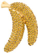 Dolce & Gabbana Frutti banana brooch
