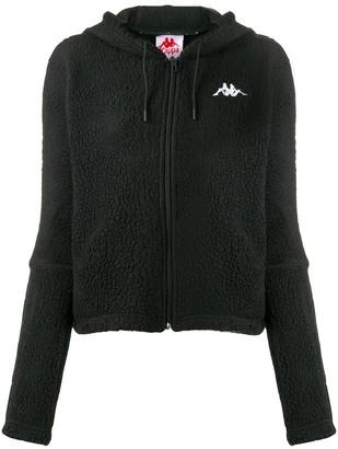Kappa logo fleece hoodie