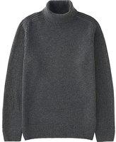 Uniqlo Men Middle Gauge Turtleneck Sweater