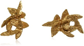 FLAKE Karolina Bik Jewellery Earrings Gold