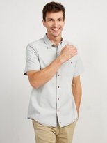 White Stuff Track stripe nep shirt