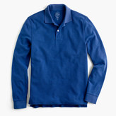 J.Crew Long-sleeve classic piqué polo shirt
