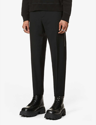 DSQUARED2 Brad high-rise tapered stretch-wool trousers