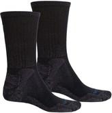 Lorpen Mid Hiker Micromodal® Socks - 2-Pack, Crew (For Men and Women)