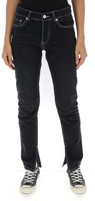 Ganni Side Slit Jeans