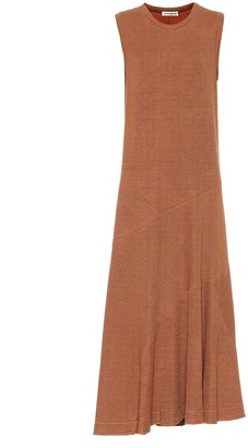 Jil Sander Linen-blend dress