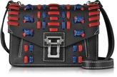 Proenza Schouler Black Soft Leather Hava Shoulder Bag
