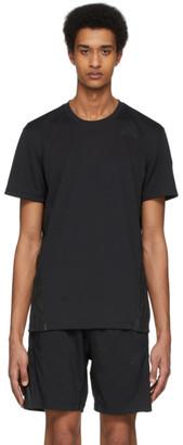 adidas Black Aero 3-Stripes T-Shirt