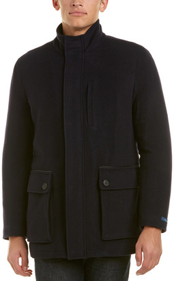 Cole Haan Wool & Cashmere-Blend Coat