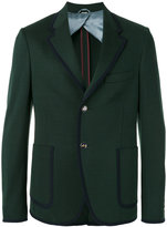 Gucci bee embellished blazer - men - Cotton - 48
