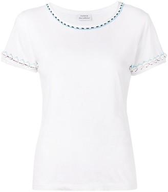 P.A.R.O.S.H. shell trim T-shirt