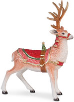 Fitz & Floyd Crimson Holiday Deer Figurine
