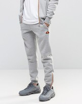 Ellesse Skinny Joggers With Zips