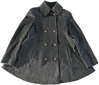 Patrizia Pepe Anthracite Cashmere Coat for Women