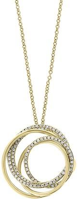 Effy Doro 14K Yellow Gold Diamond Pendant Necklace