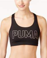 Puma Pwrshape Logo Medium-Support Sports Bra