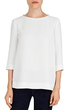 Gerard Darel Maria Braid Trimmed Top