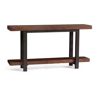 "Pottery Barn Griffin 42"" Reclaimed Wood Media Console"