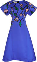 Marni Floral A Line Dress