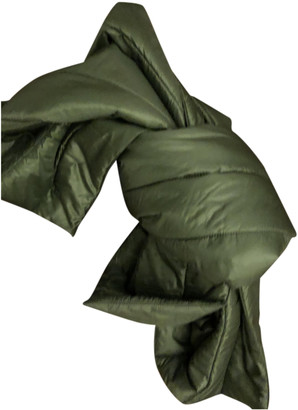 Herno Green Polyester Scarves