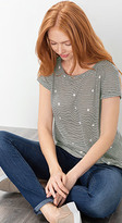 Esprit OUTLET airy printed t-shirt
