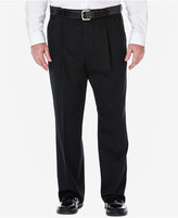 Haggar Work to Weekend Big and Tall Pleated Pants