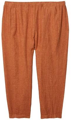 Eileen Fisher Plus Size Lantern Pants (Cinnamon) Women's Casual Pants