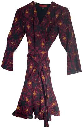 Vivienne Tam Burgundy Dress for Women