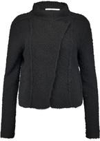 Maje Macao bouclé cotton-blend jacket