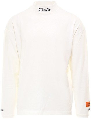 Heron Preston Mock Neck Long-Sleeves Shirt