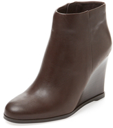 Vince Camuto Gemina Leather Wedge Bootie