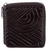 Reed Krakoff Patent Leather Quilted Wallet
