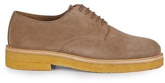 Aquatalia Luke Weatherproof Suede Derby Shoes