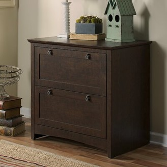 Fralick 2-Drawer Lateral Filing Cabinet Darby Home Co Color: Madison Cherry