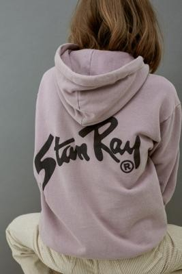 Stan Ray Logo Hoodie - Purple S at Urban Outfitters