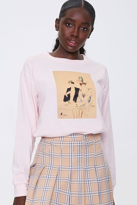 Forever 21 Picasso Graphic Top