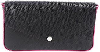 Louis Vuitton Black Epi Leather Pochette Felicie