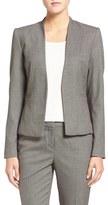 Halogen Bird's Eye Suit Jacket (Regular & Petite)