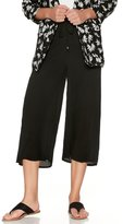 M&Co Black crepe culottes
