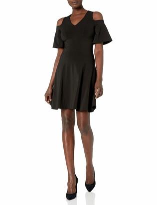 Karen Kane Women's Cold Shoulder Travel Dress